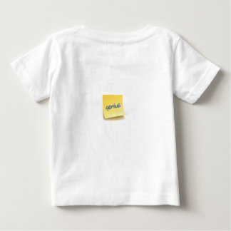 Genius Sticky Note Baby T-Shirt