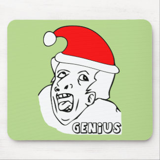 genius xmas meme mouse pads
