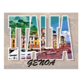 Genoa, Italy Postcard