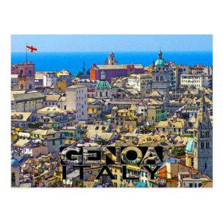Genoa Postcard