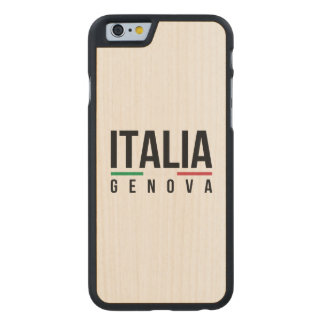 Genova Italia Carved® Maple iPhone 6 Case