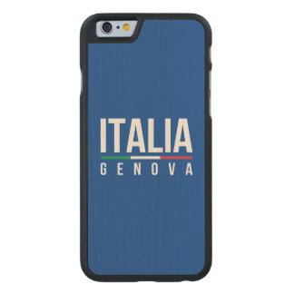 Genova Italia Carved® Maple iPhone 6 Slim Case