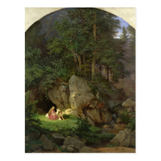 Genoveva in the Wood Clearing, 1839-41 Postcard