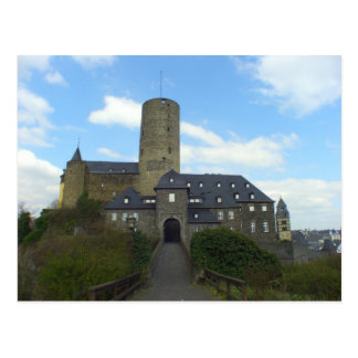 Genovevaburg, Castle in Mayen, Germany Postcard