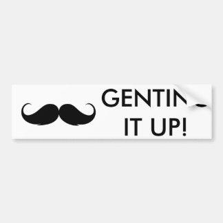Genting it up! bumper sticker