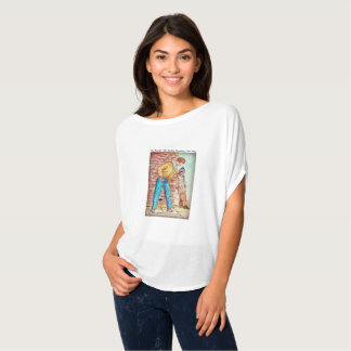 Gentle And Flowing - Perfect To Go With Leggings T-Shirt