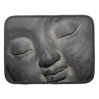 Gentle Buddha Face Stone Sculpture Planners