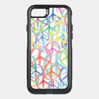 Gentle Color Peace Signs OtterBox Commuter iPhone 8/7 Case
