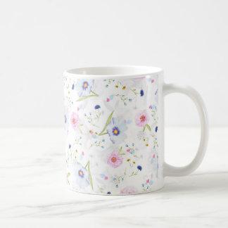 Gentle floral mug