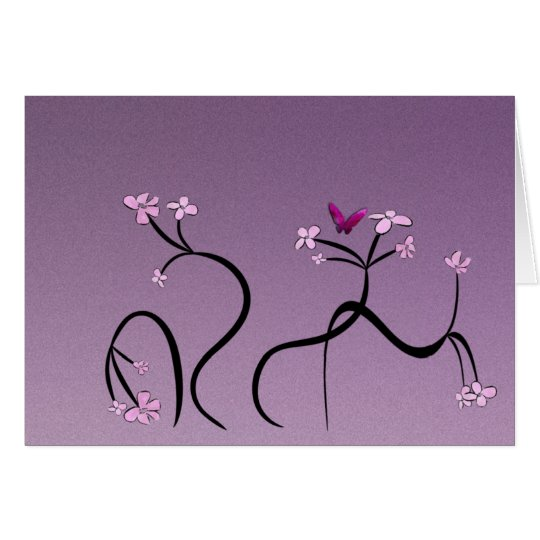 Gentle Florals greeting card