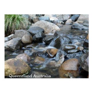 Gentle Flowing Creek Queensland Postcard