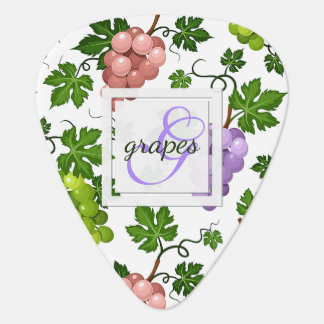Gentle Grapes and Grapevines Plectrum