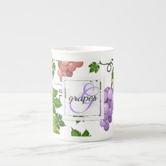 Gentle Grapes and Grapevines Tea Cup
