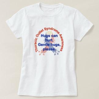 Gentle Hugs TOS Awareness Woman's Tee