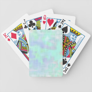 Gentle rays of light, bicycle poker cards