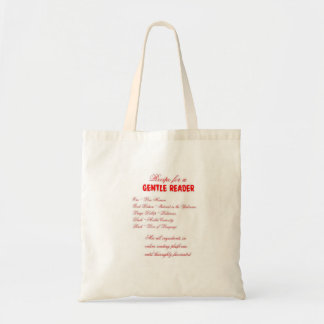 Gentle Reader Grocery Tote