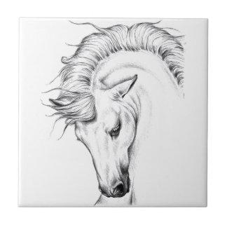 Gentle Stallion Tile