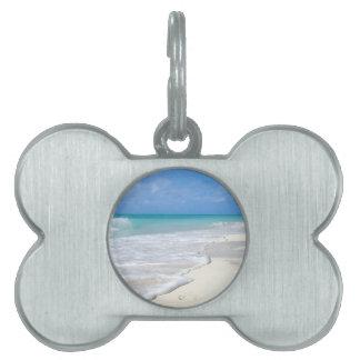 Gentle Surf Pet ID Tag