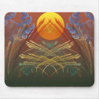 Gentle Symmetry Mouse Pad