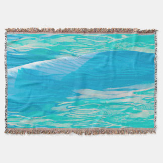 Gentle Wave - Throw Blanket