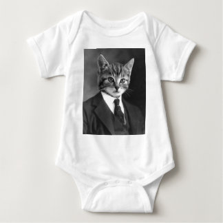 Gentleman Cat #1 Baby Bodysuit