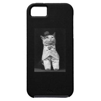 Gentleman Cat iPhone 5 Case