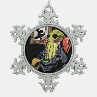 Gentleman Cthulhu - Snowflake Ornament