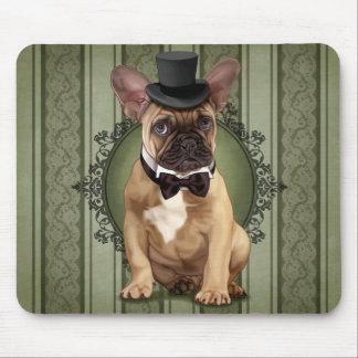 Gentleman French Bulldog Mouse Pad