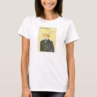Gentleman Ginger Cat T-Shirt