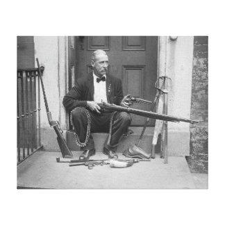 Gentleman Gunslinger 1927 Canvas Print