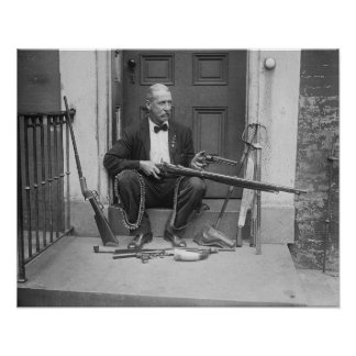 Gentleman Gunslinger, 1927. Vintage Photo Poster