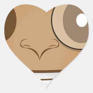 Gentleman Heart Sticker