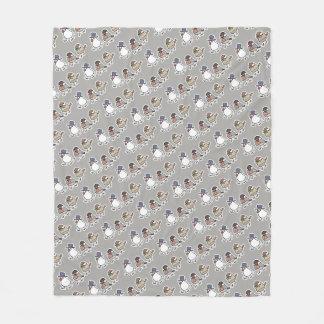 Gentleman Java sparrows (M) Fleece Blanket