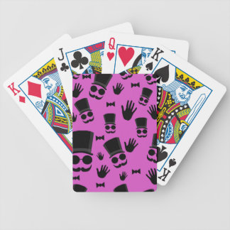 Gentleman - magenta pattern poker deck