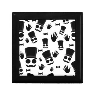 Gentleman pattern gift box