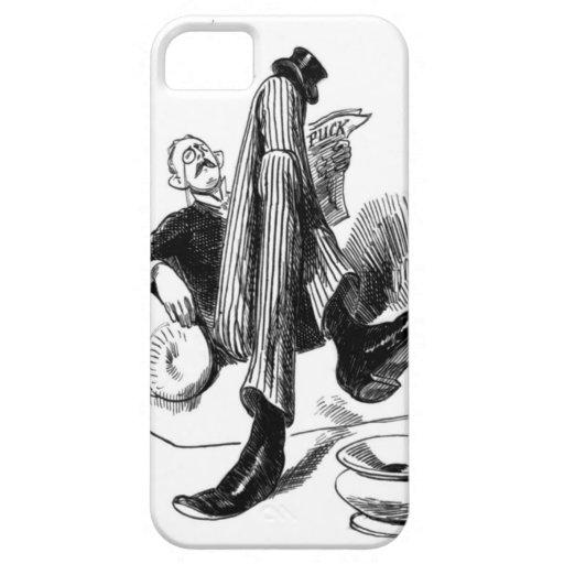 Gentleman Reading 1880 iPhone 5 Case