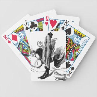 Gentleman Reading 1880 Poker Deck
