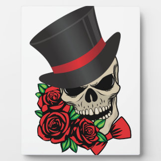 Gentleman Skull Plaque