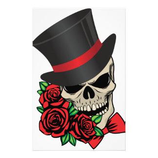 Gentleman Skull Stationery
