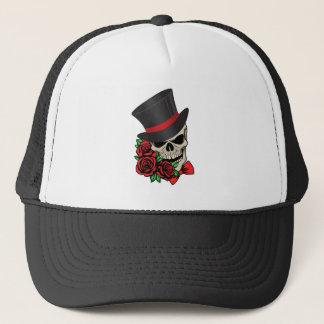 Gentleman Skull Trucker Hat