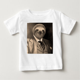 Gentleman Sloth 7# Baby T-Shirt