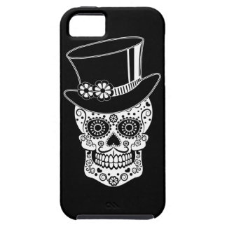 Gentleman Sugar Skull-01 iPhone 5 Case