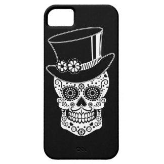 Gentleman Sugar Skull-01 iPhone 5 Cases