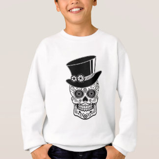 Gentleman Sugar Skull-01 Sweatshirt