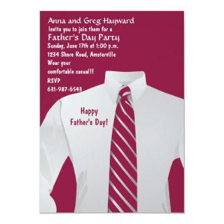 Gentleman's Shirt Invitation