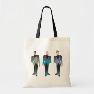 Gentlemen Only Totes Budget Tote Bag
