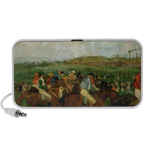 Gentlemen race. Before the Departure, 1862 iPod Speaker