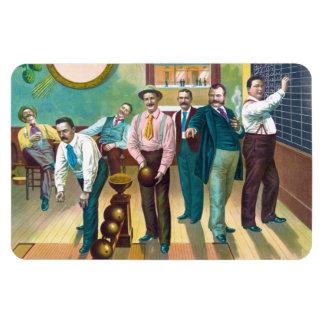 Gentlemen's Bowling League Magnets