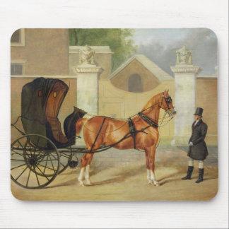 Gentlemen's Carriages: A Cabriolet, c.1820-30 (oil Mousepads