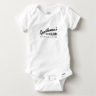 """Gentlemen's Club Babies Thingy """"Kirchheim"""" Baby Onesie"""
